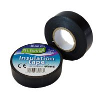 19mm x 20m Black PVC Electrical Tape