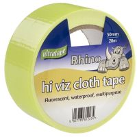 50mm x 20m Hi Viz Gaffer Tape