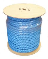 16mm Blue Polypropylene Rope - 100m reel