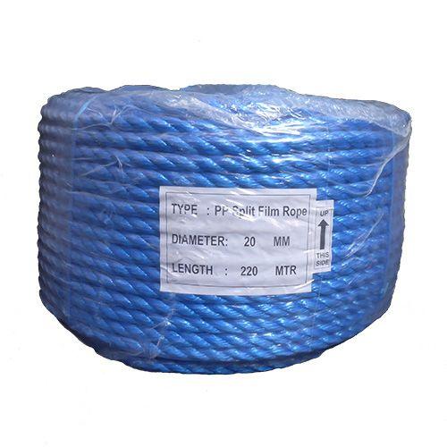 20mm Blue Polypropylene Rope - 220m coil