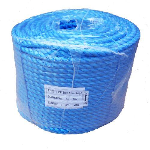 24mm Blue Polypropylene Rope - 220m coil