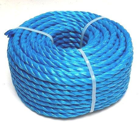 8mm Blue Polypropylene Rope - 30m Mini Coil