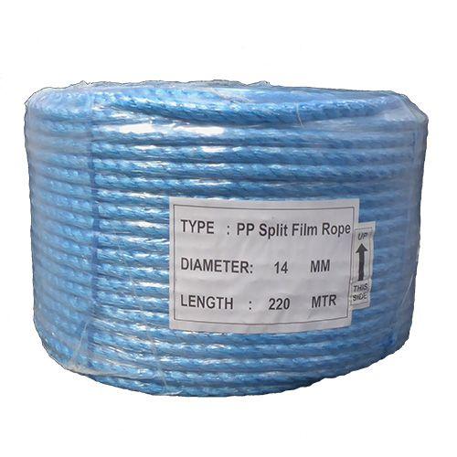 14mm Blue Polypropylene Rope - 220m coil