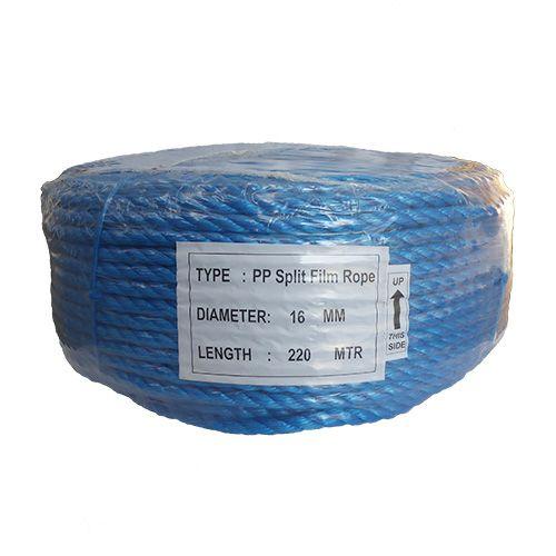 16mm Blue Polypropylene Rope - 220m coil