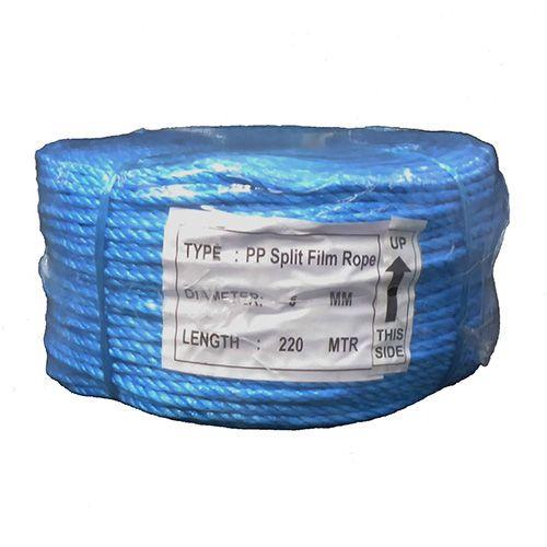 6mm Blue Polypropylene Rope - 220m coil