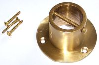 Solid Brass Rope End Plate for 24mm rope