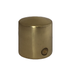 Polished Brass Cap End for 24mm Rope
