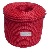 10mm Red Polypropylene Rope sold by the 220m coil
