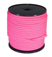 12mm Pink Braided Rope sold on a 100m reel