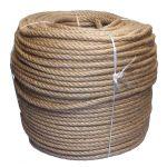 10mm 4-strand Jute/pp rope - 220m coil