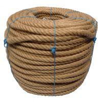 24mm 4-strand Jute/pp rope - 180m coil