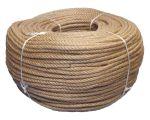 8mm 4-strand Jute/pp rope - 220m coil