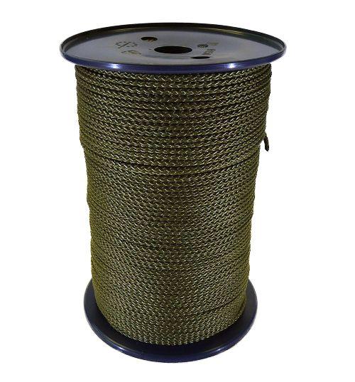 Khaki Green Poly Multicord