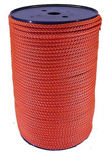 6mm Burnt Orange Polypropylene Multicord - 200m reel