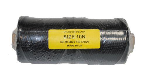 10N Black Nylon Cord - 132m