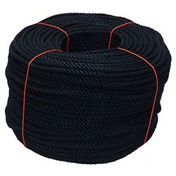 Black PolyCotton Rope