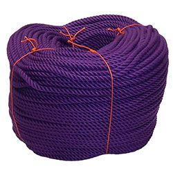 Purple PolyCotton Rope