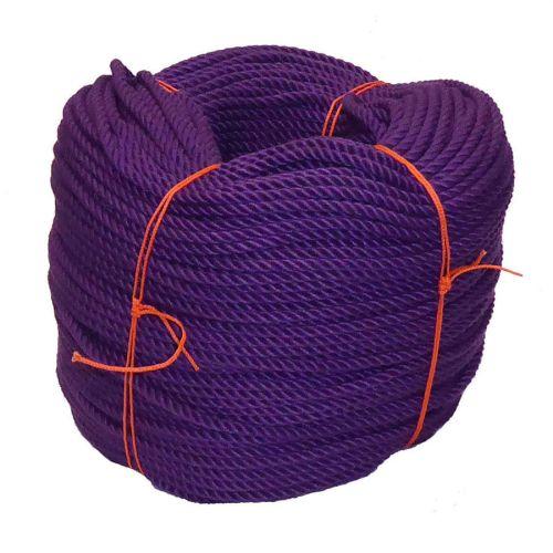 6mm Purple PolyCotton Rope - 220m coil