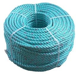 Green Polysteel Rope sold by the coil