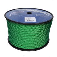 10mm Solid Green Braid on Braid Polyester 100m reel