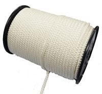 5mm 8-plait white polyester 100m reel