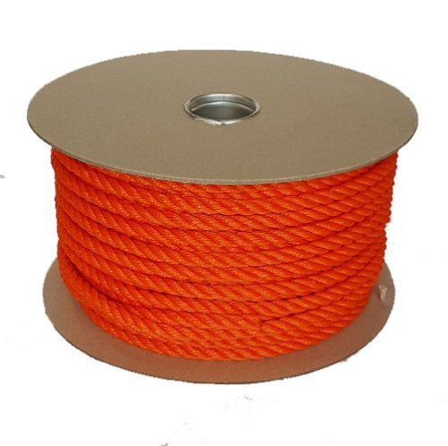 10mm Orange Polyethylene Rope - 70m reel