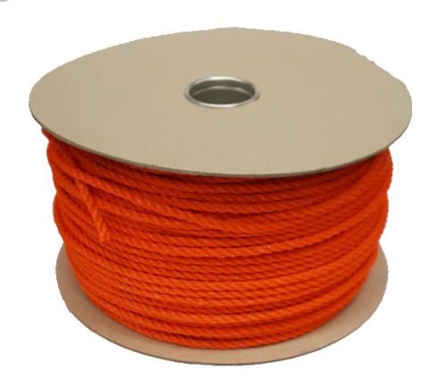 6mm Orange Polyethylene Rope - 220m reel