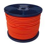 3mm Orange Shock Cord 100m reel