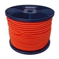 6mm Orange Shock Cord 100m reel