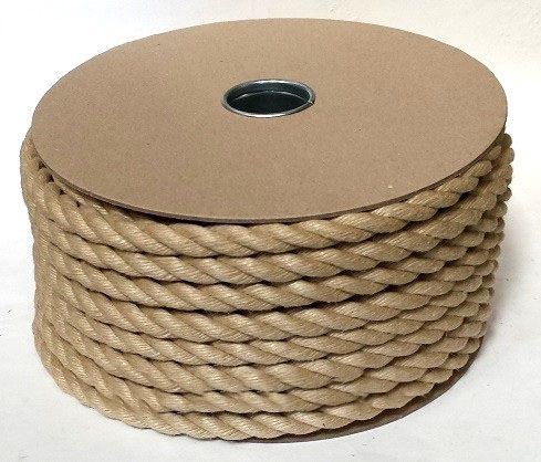 16mm Synthetic Hemp Rope on a 40m reel