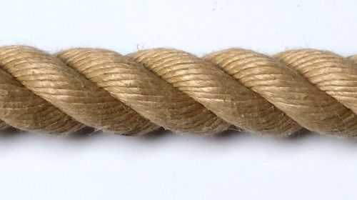 28mm Synthetic Hemp Rope sold by the metre