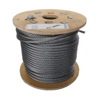 6mm x 50m 7x7 Galvanised Steel Wire Rope