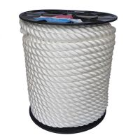 24mm White Yacht Rope on a 100m reel
