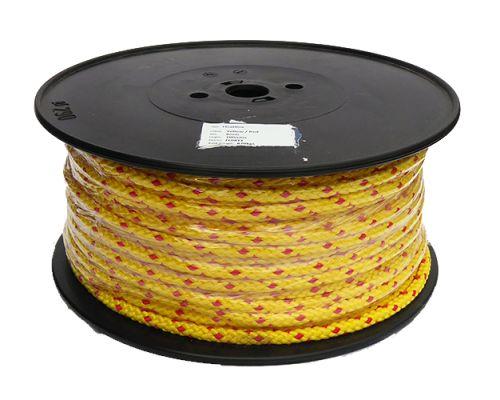 8mm Yellow Floatline - 100m reel