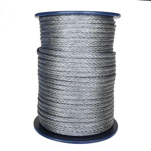 12mm Grey HMPE 12-strand - 100m reel