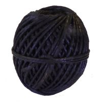 Thick Tarred Flax Marline Twine, 250gm ball